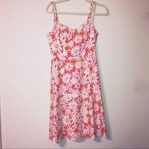 🌵Vintage Talbots floral dress